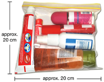 Amount Liquids Allowed Hand Luggage on Hand Luggage Restrictions
