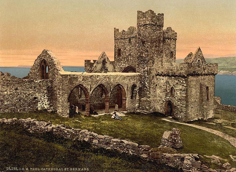 Isle of Man, Peel Cathedral, St German's