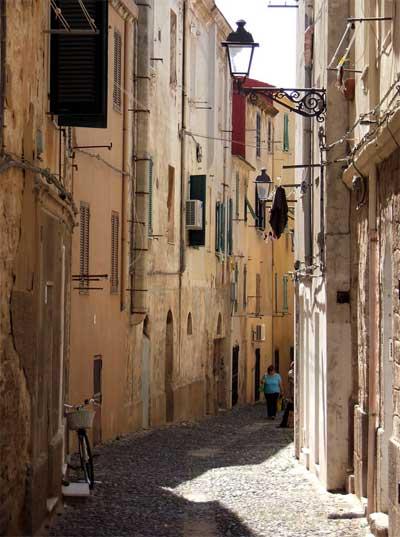 Sardinia-old-town